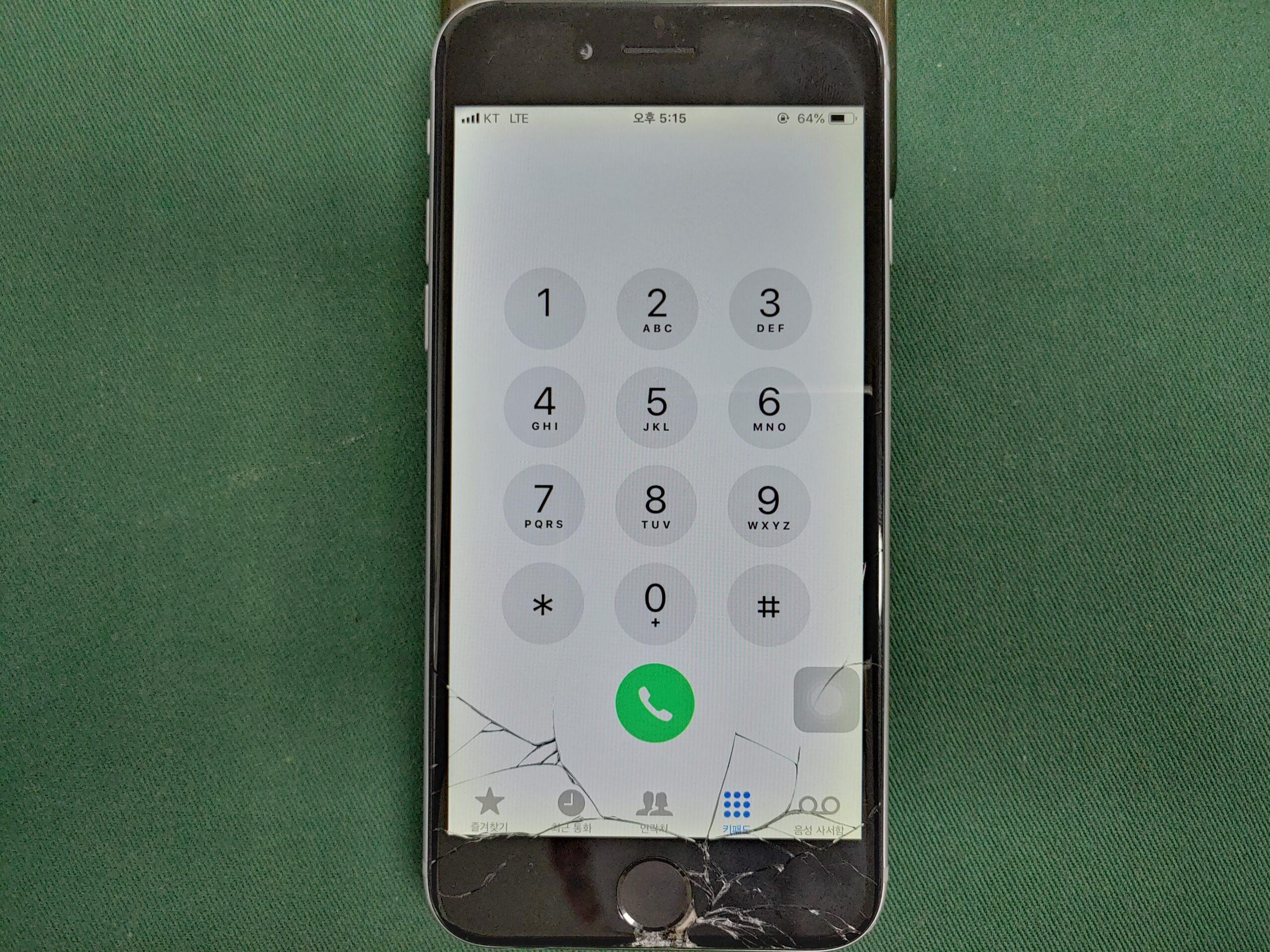 아이폰6 액정파손 1