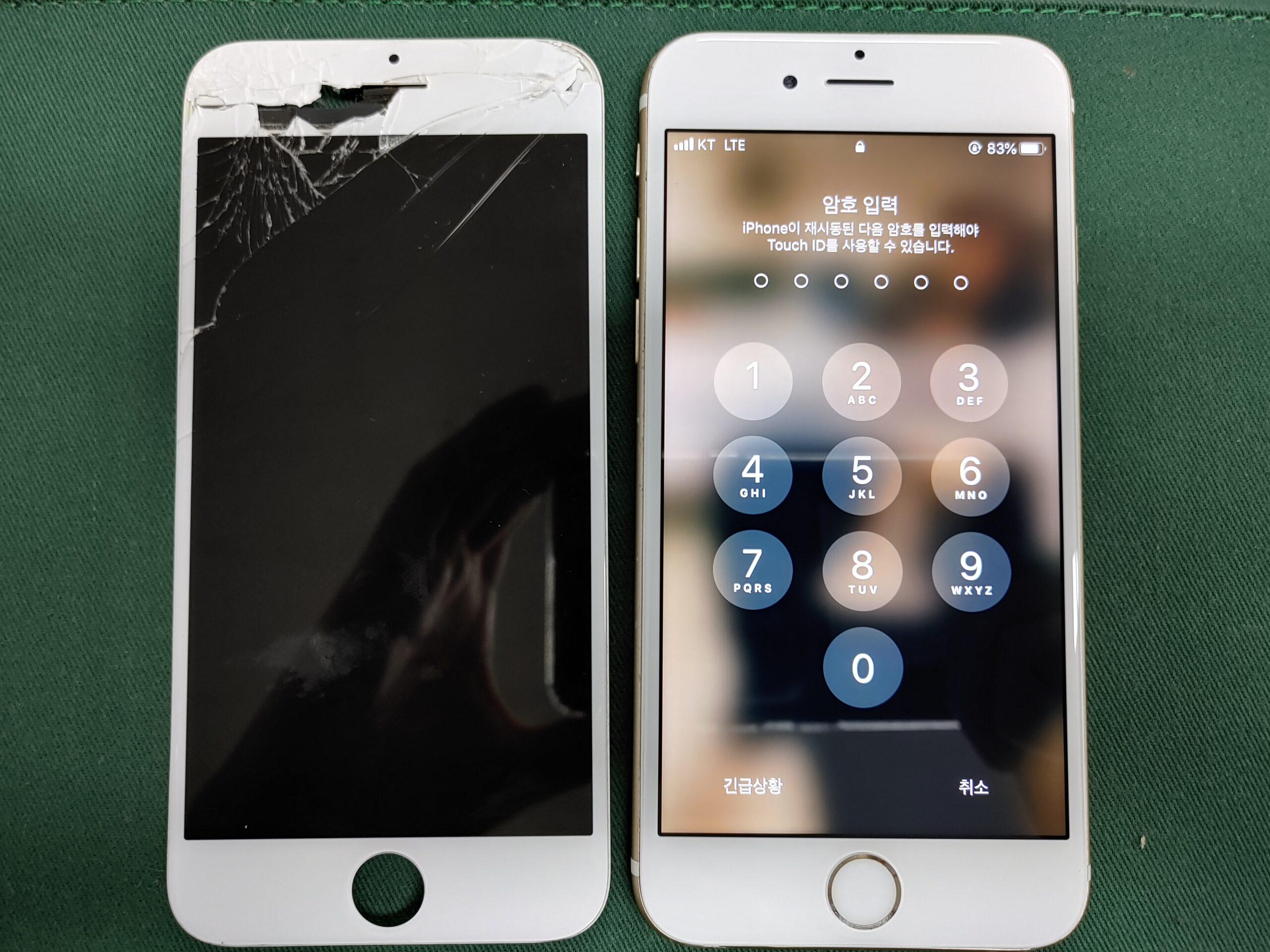 아이폰6S LCD불량 2