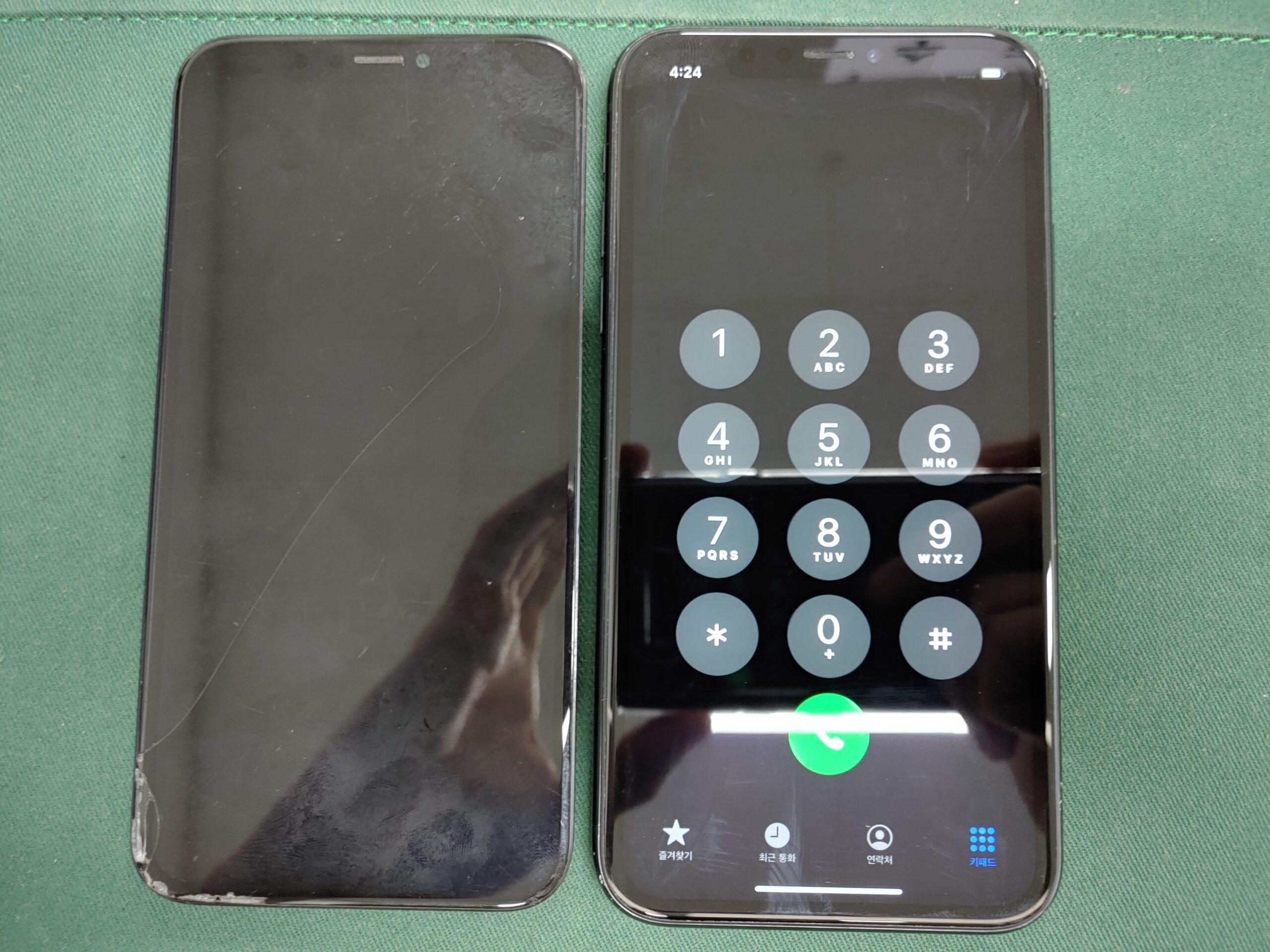 아이폰XR LCD불량액정 2