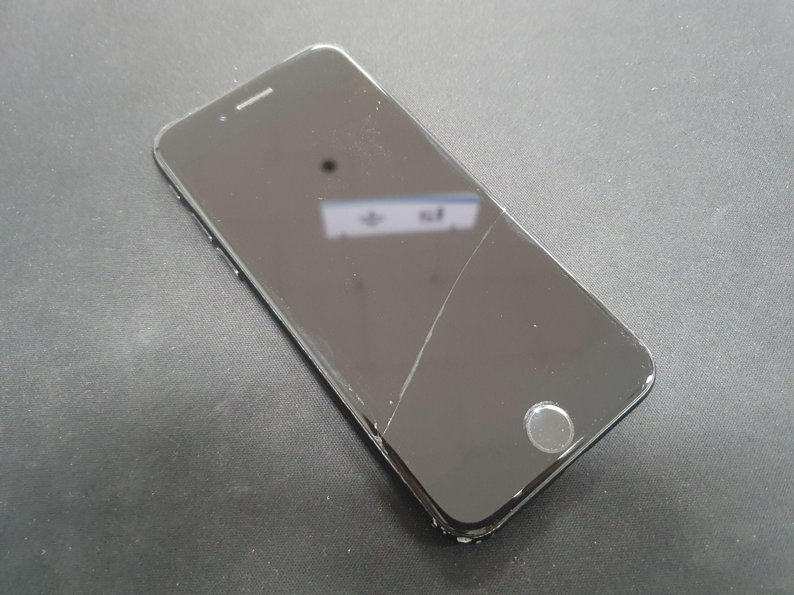 아이폰7 128기가 제트블랙 액정파손제품 매입