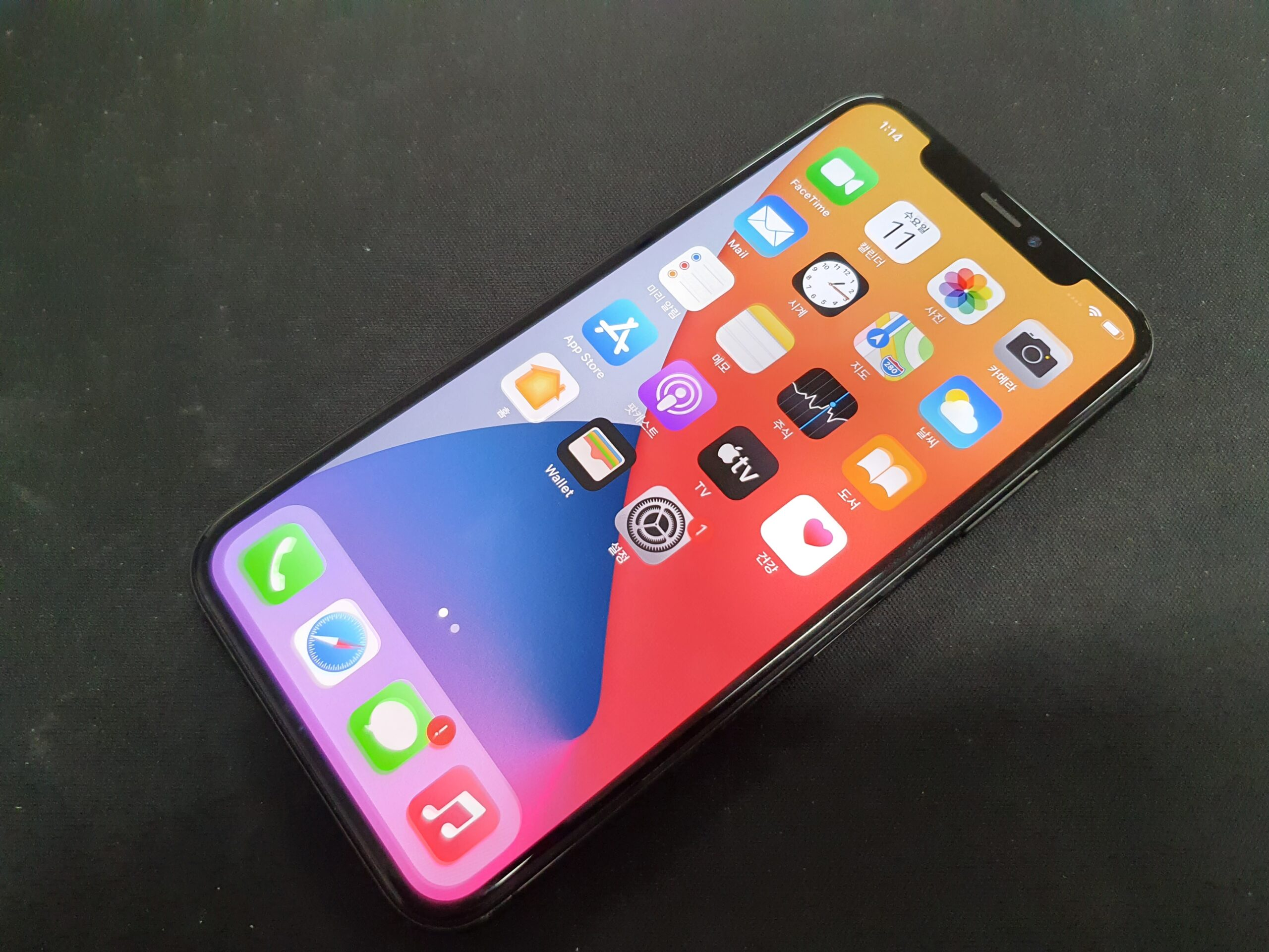 아이폰X OLED 번인 매입됩니다