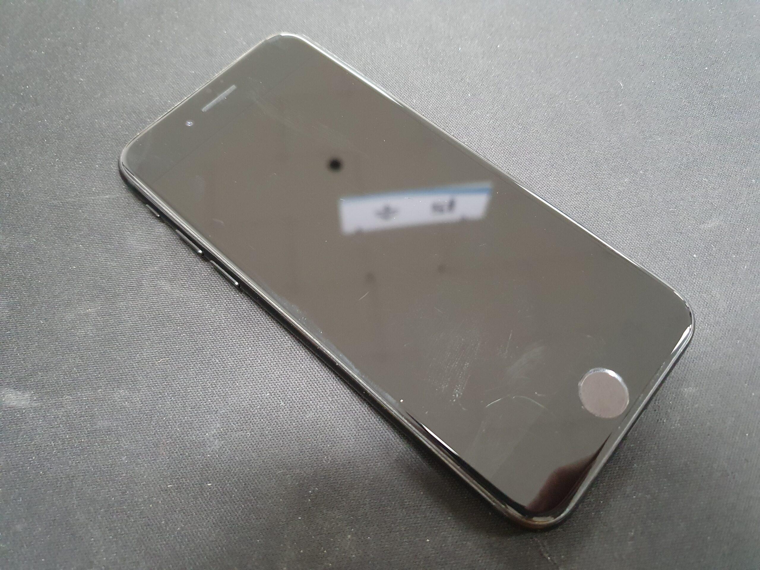 아이폰7 제트블랙 스크래치에 약해요