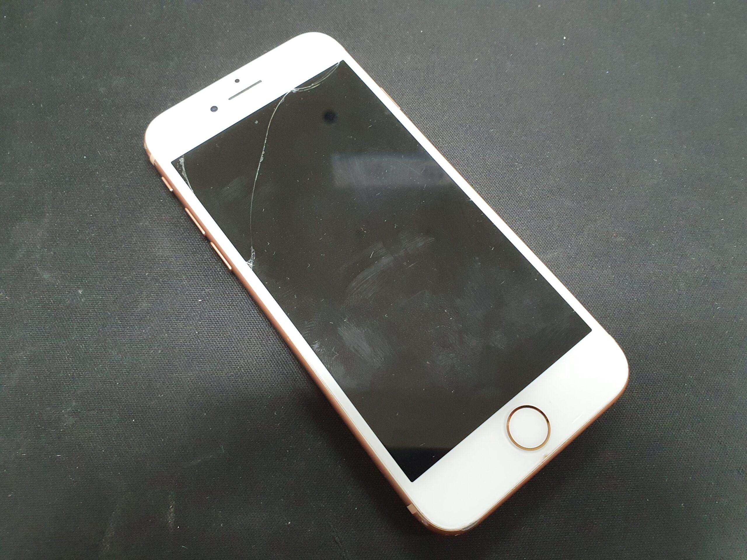 아이폰8 액정파손 및 후면파손 제품 매입
